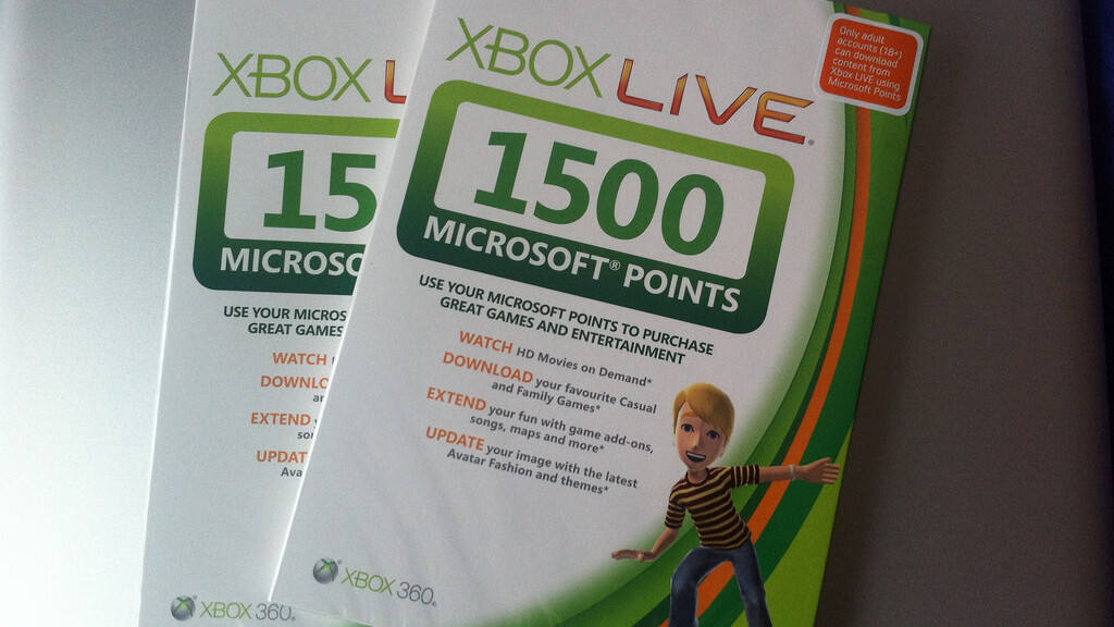 Microsoft begins phasing out its Points currency, starting with Windows 8