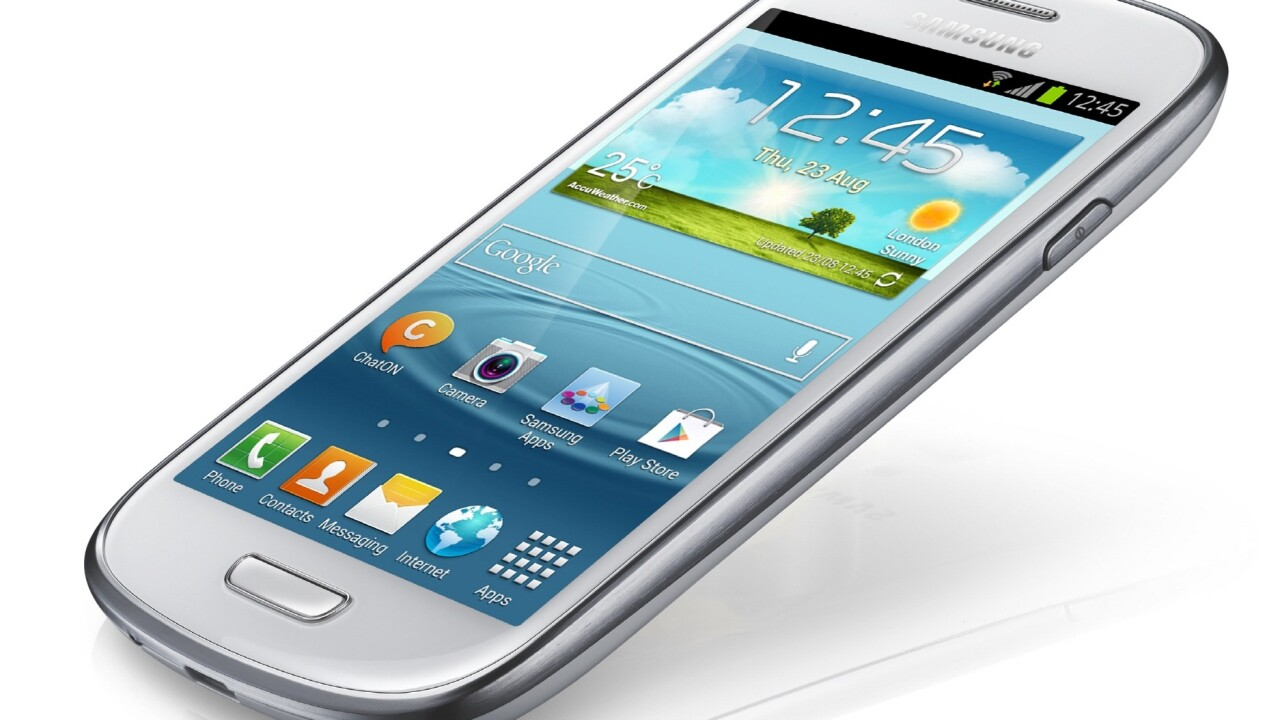 Samsung officially announces the Galaxy S3 Mini, 4″ screen, 1GHz processor and NFC