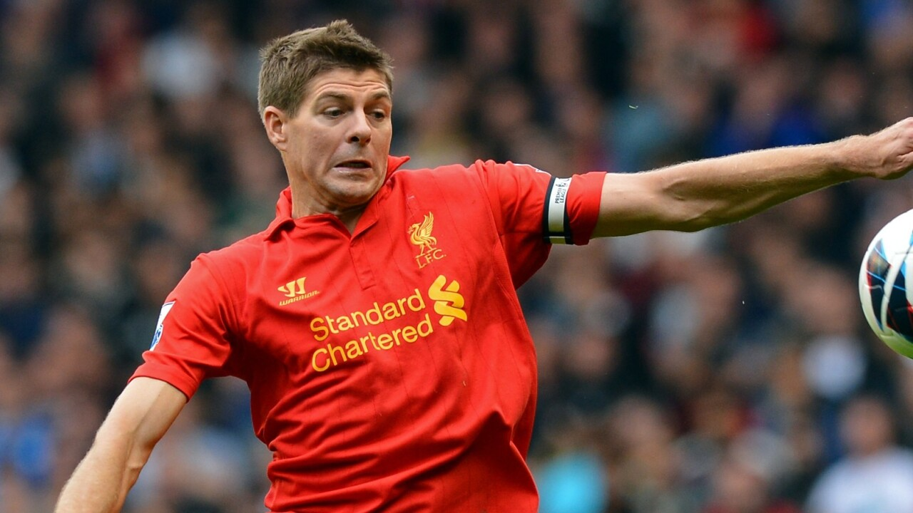 I Am Playr lands on iOS devices as a flick-football game, starring Steven Gerrard and other top pros