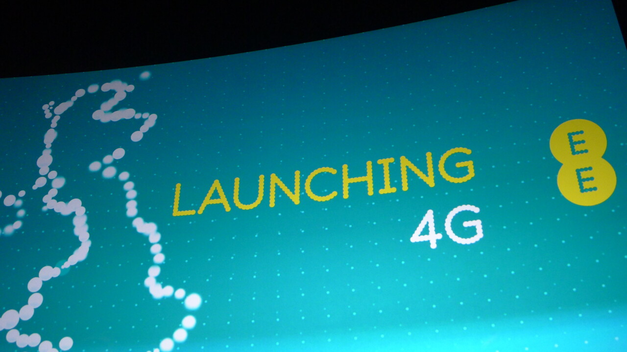 EE announces UK's first 4G network will officially launch on October 30