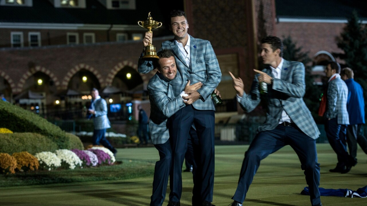 BSkyB's Sky Go saw a record 700,000 viewers tune in last weekend, thanks to the Ryder Cup