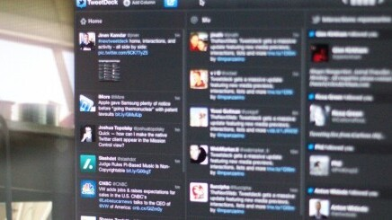 Tweetdeck updated on all platforms with Retina support in light and dark themes, font sizing and design tweaks