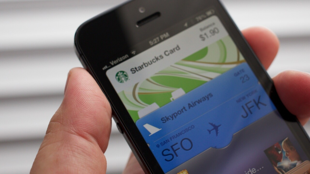 Starbucks app for iPhone adds Apple Passbook support, and it nails it
