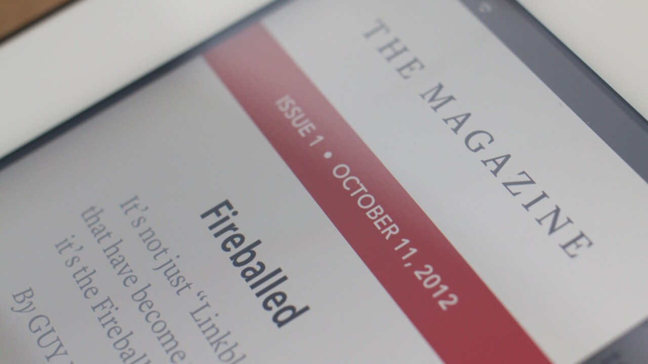 Instapaper creator Marco Arment launches The Magazine, a different kind of periodical for Apple's Newsstand
