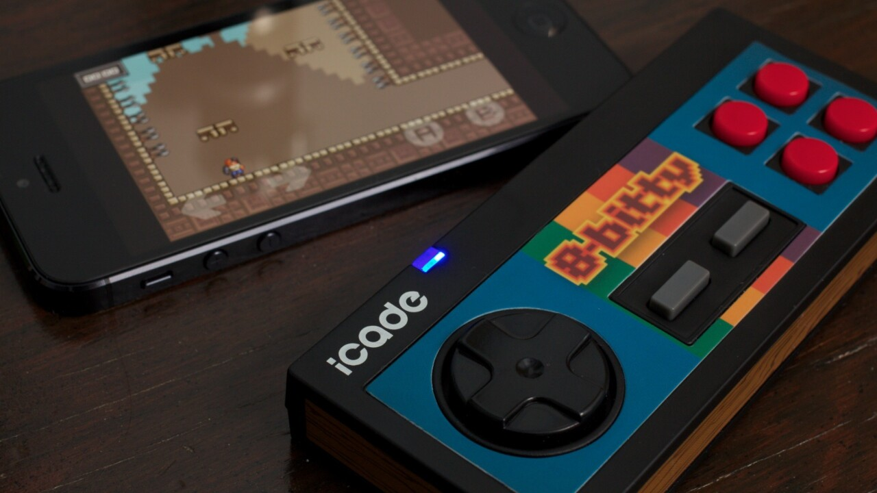 The 8-Bitty controller for iOS & Android is fantastic, as long as your favorite game supports it