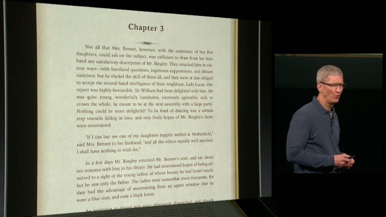 Apple announces new iBooks with continuous scrolling, better iCloud and sharing, says 400M iBooks downloaded