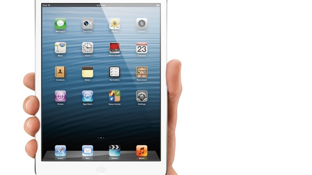 Apple tweaks iOS to better detect accidental touches due to iPad mini's thinner bezel