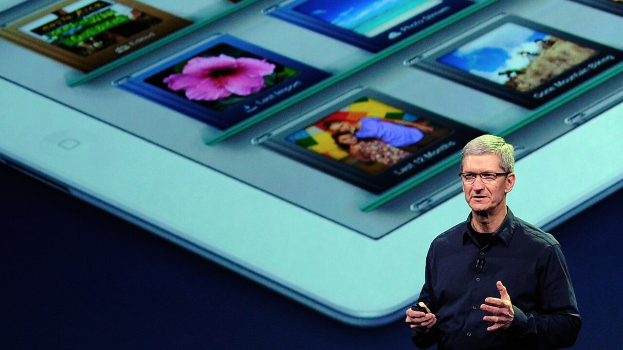 """Tim Cook on 7.9″ iPad mini: """"We would never make a 7″ tablet"""""""