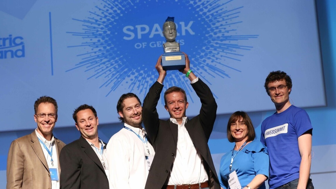 SmartThings wins the Dublin Web Summit's Spark of Genius startup competition