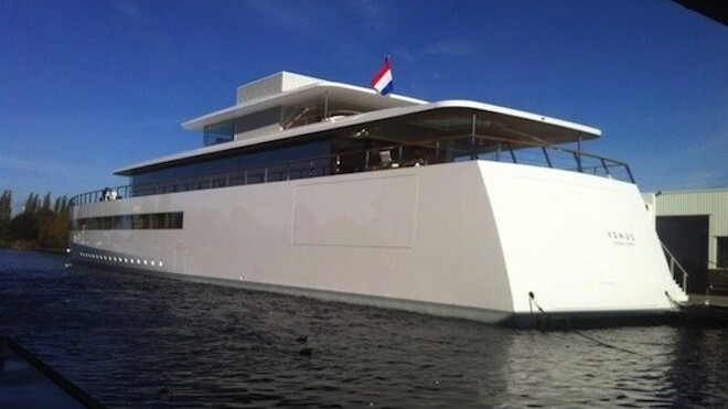 Steve Jobs' gorgeous, high-tech yacht designed by Philippe Starck makes its debut