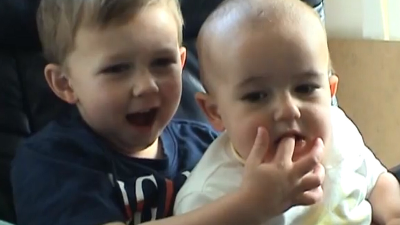 'Charlie bit my finger – Again' (and again) as viral kids are set to be syndicated as an original series