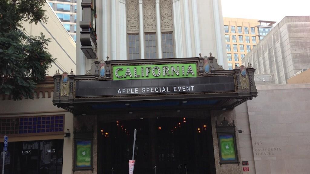 Apple preps California Theatre for Oct. 23 'iPad mini' event