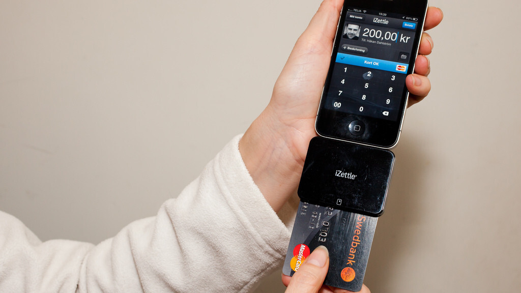 iZettle, Europe's Square, expands $31.4m Series B round with investment from American Express