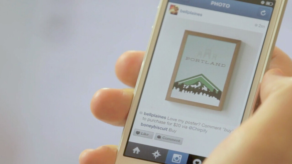 Chirpify expands beyond Twitter, integrates its simple in-stream commerce platform with Instagram