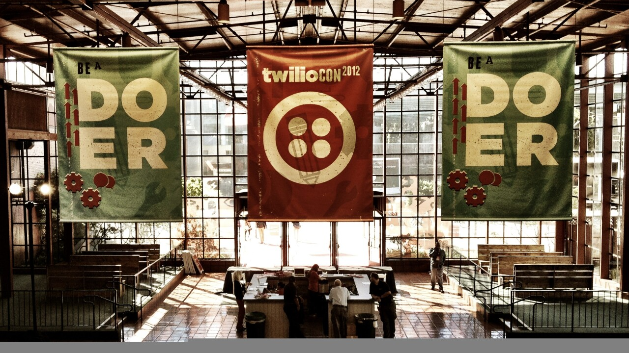 With over 150,000 developers using its platform, Twilio sees apps processing over 1.5M calls per day