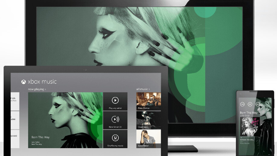 Microsoft pressing play on Xbox Music on Oct. 16 ahead of Windows 8 release