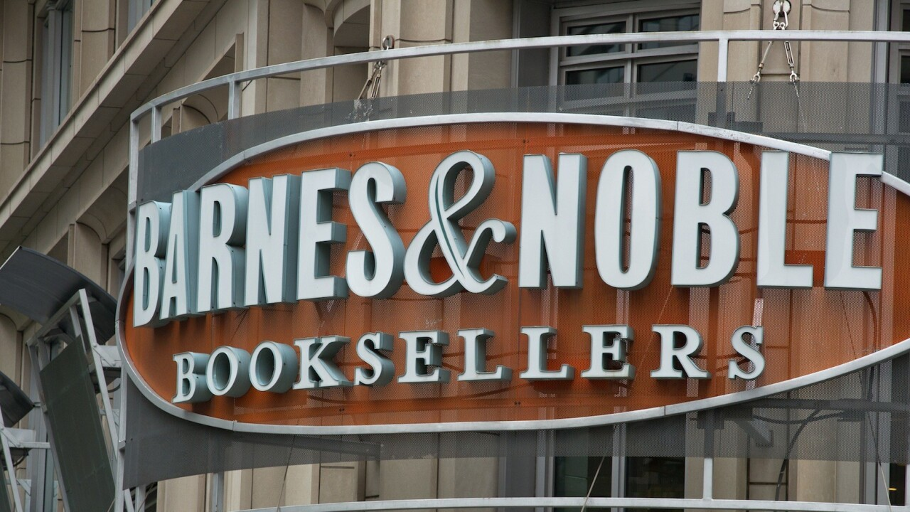 Amazon who? Barnes & Noble saw Nook sales also double over Thanksgiving weekend