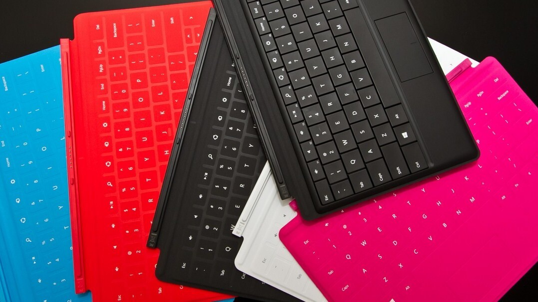 """Microsoft acknowledges """"material separation"""" issue in its Touch Cover keyboard for Surface"""