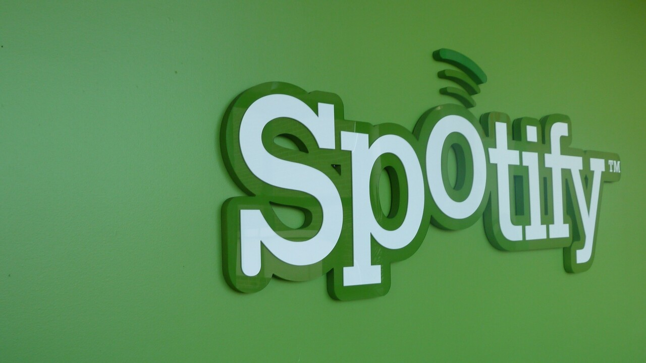 """Spotify confirms beta launch of browser-based music app, currently only available to a """"small number of users"""""""