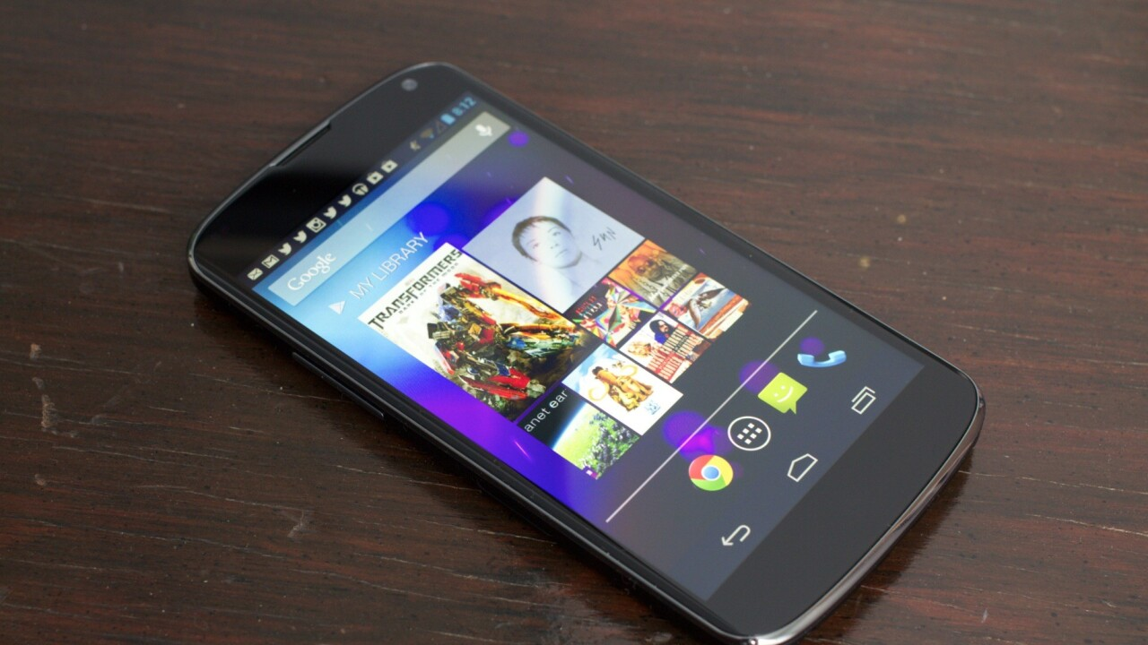 Just days after release, Google's Nexus 4 has already been rooted