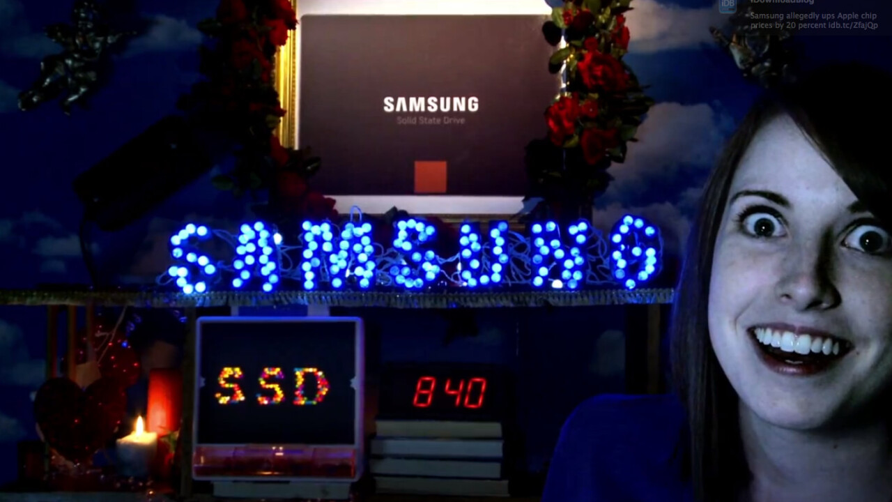 Samsung teams up with Overly Attached Girlfriend for new advert, comes away looking overly desperate