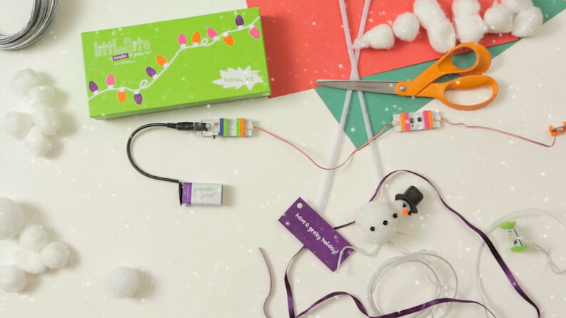 Forget lame gifts: Check out littleBits' holiday kit to teach your kids electronics and engineering