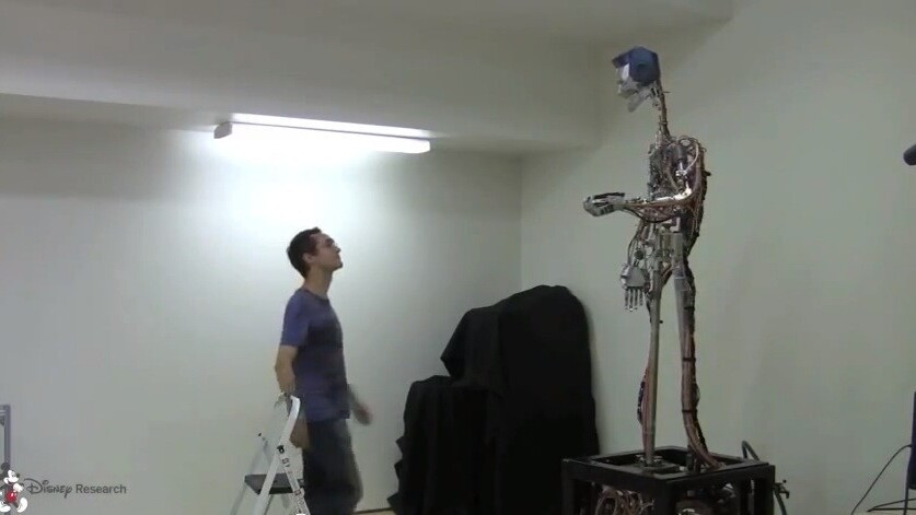 We're doomed: Disney is building interactive robots that can juggle with humans
