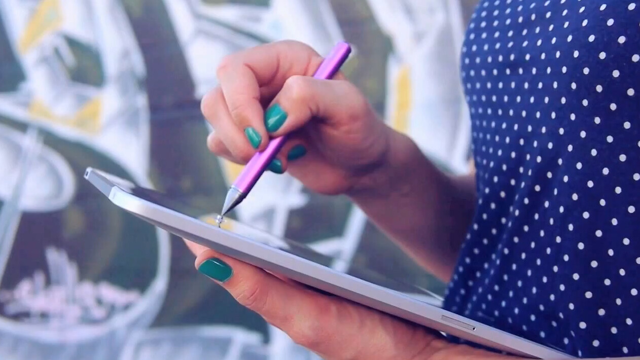 Adobe Photoshop Touch 1.4 lands on the iPad mini and Google Nexus 7, adds stylus support and sharing