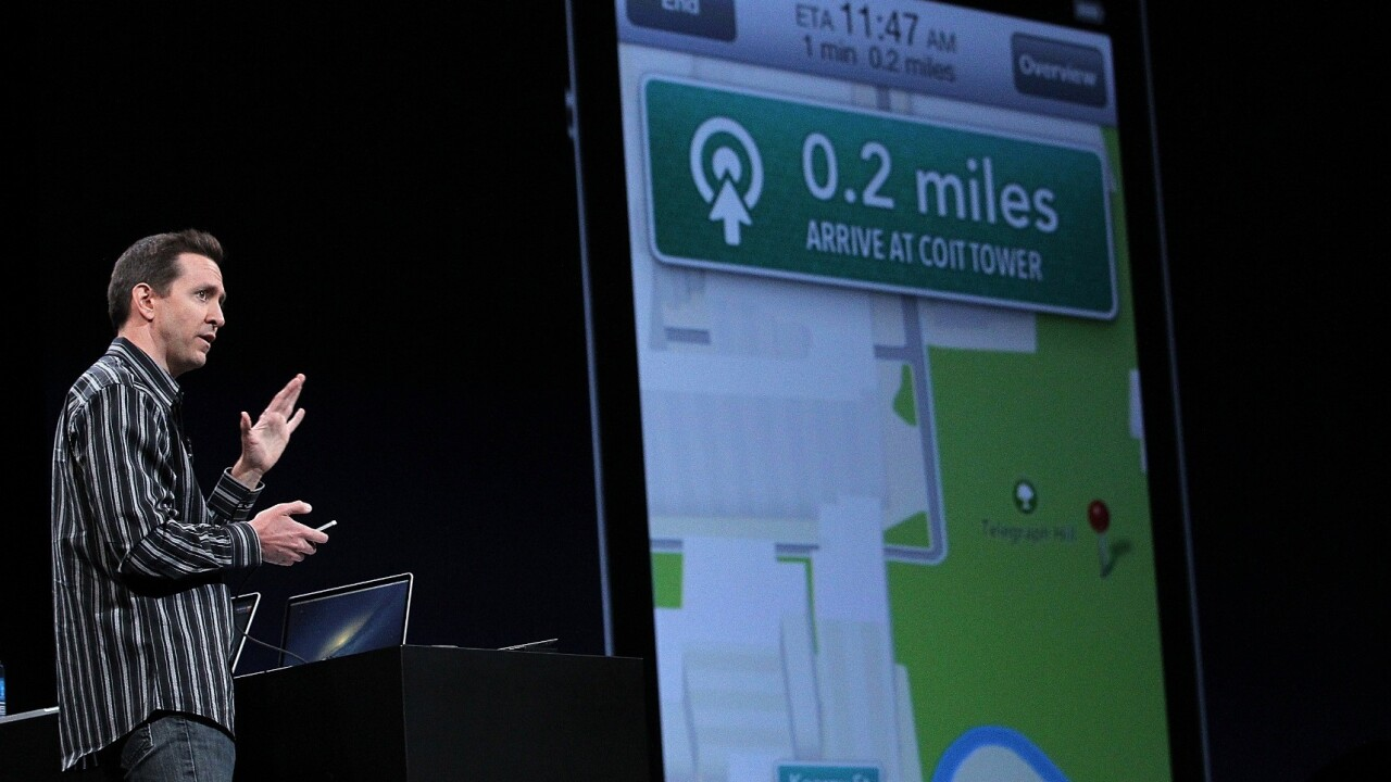 Driving navigation apps slipping into Apple Maps' transit section, is it oversight or leniency?