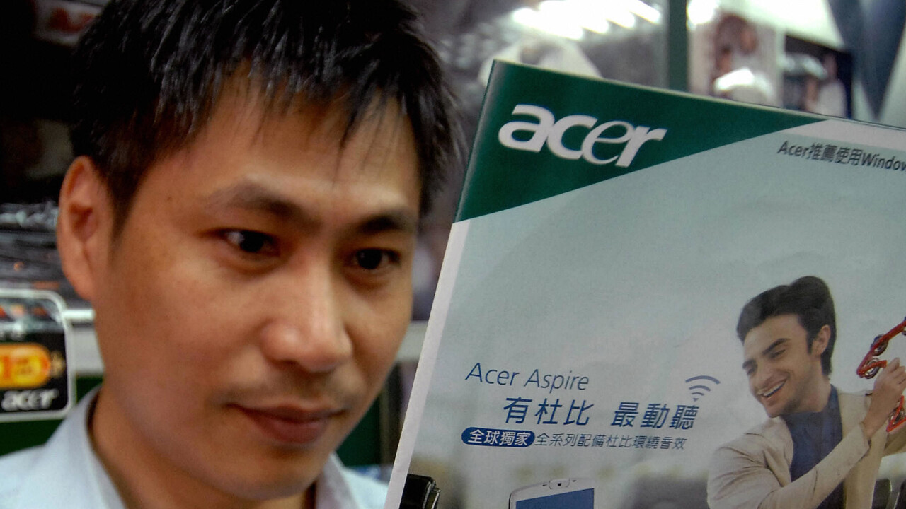 """Acer hopes Microsoft learns that the """"hardware meal"""" is tough to eat"""