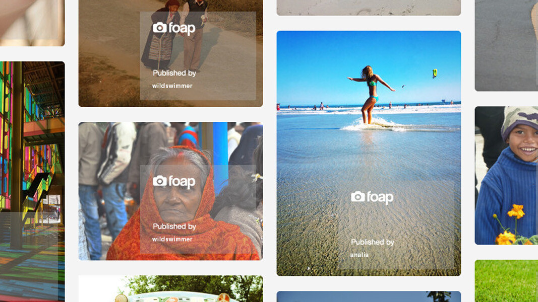 Swedish mobile photo agency startup Foap snaps up $500k investment round