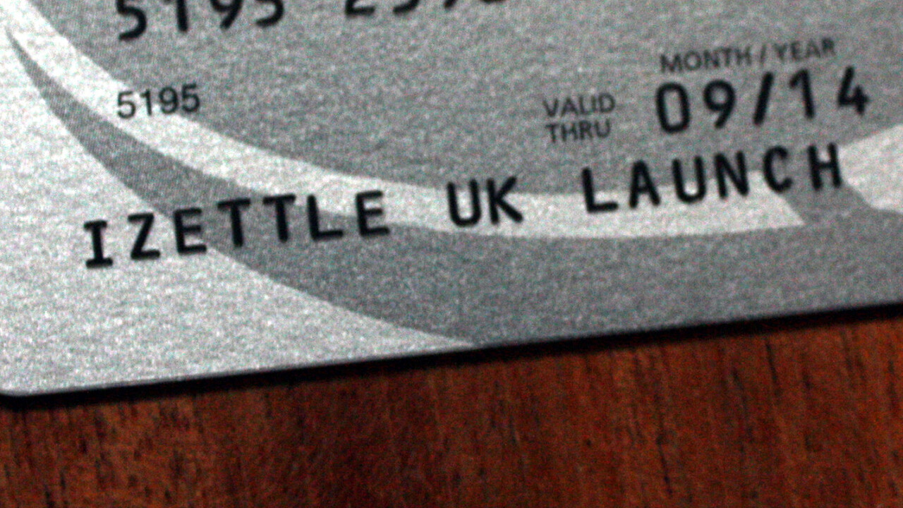 iZettle launches in the UK with EE for payments via Mastercard, Amex, Visa and Diners Club