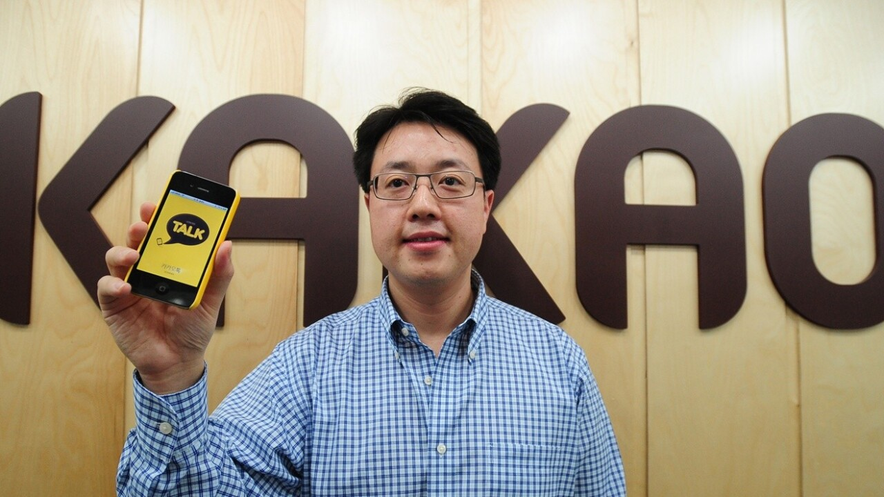 After making money in Korea, mobile chat app Kakao Talk takes its games service global