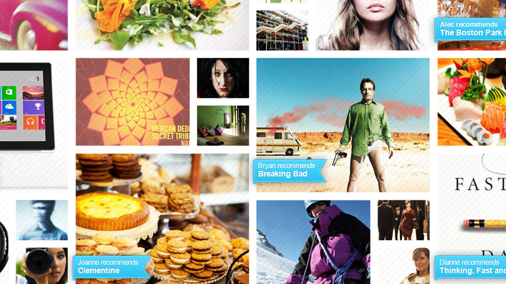 Snoox's social recommendation platform keeps all of your endorsements personal