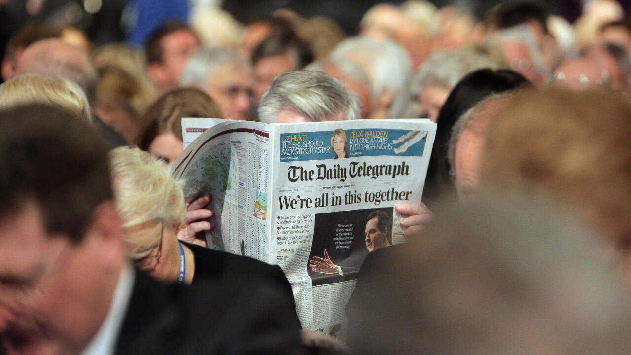 The Telegraph introduces paywall and subscription plans – but only for non-UK readers