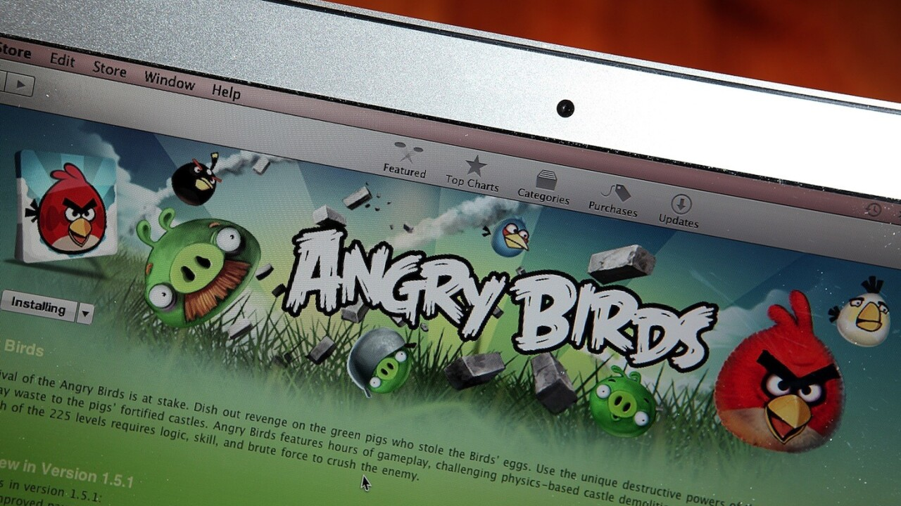 Happy Birdday! Angry Birds turns three, adds 30 new levels, full iPhone 5 support and Pink Bird