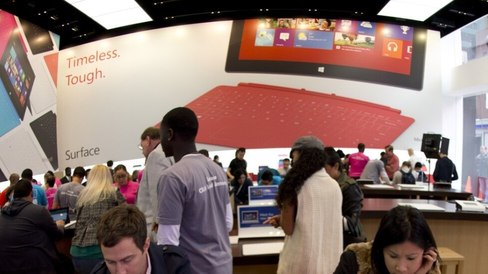 After opening 51 retail stores in 2012, Microsoft announces locations for the first six in 2013