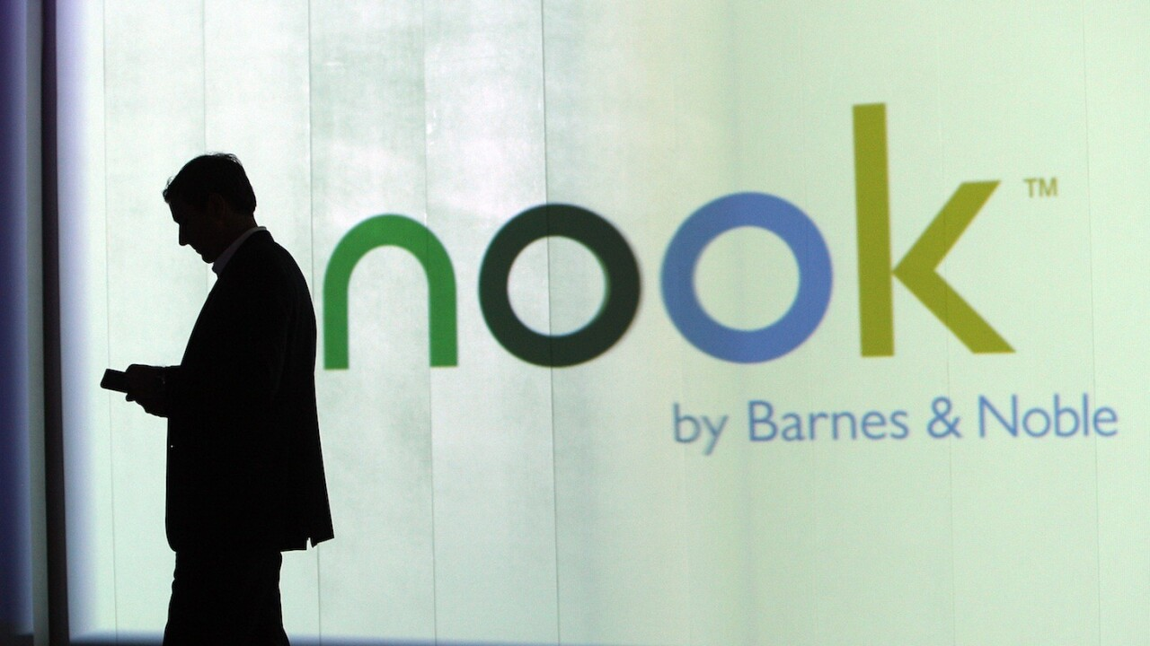 Pearson buys 5% stake in NOOK Media, the Microsoft-Barnes & Noble joint venture, for $89.5m; valuing it at $1.8b
