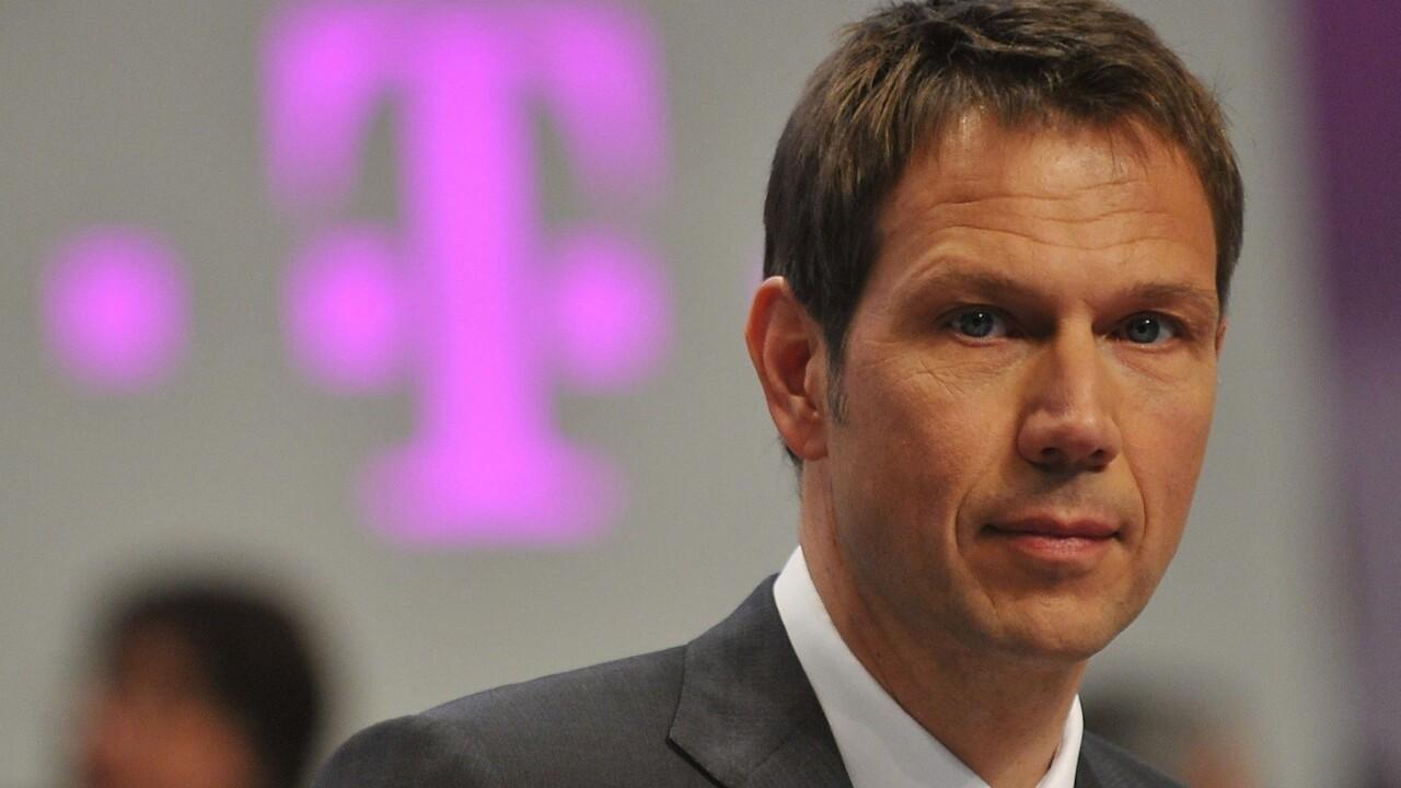Deutsche Telekom CEO René Obermann will step down in Dec 2013; CFO Tim Höttges to succeed him