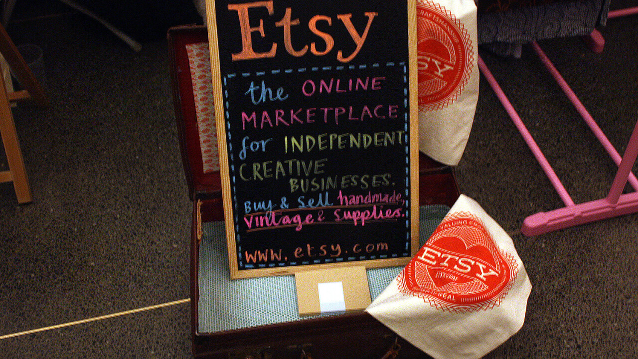 Etsy files for an IPO with plans to raise up to $100 million