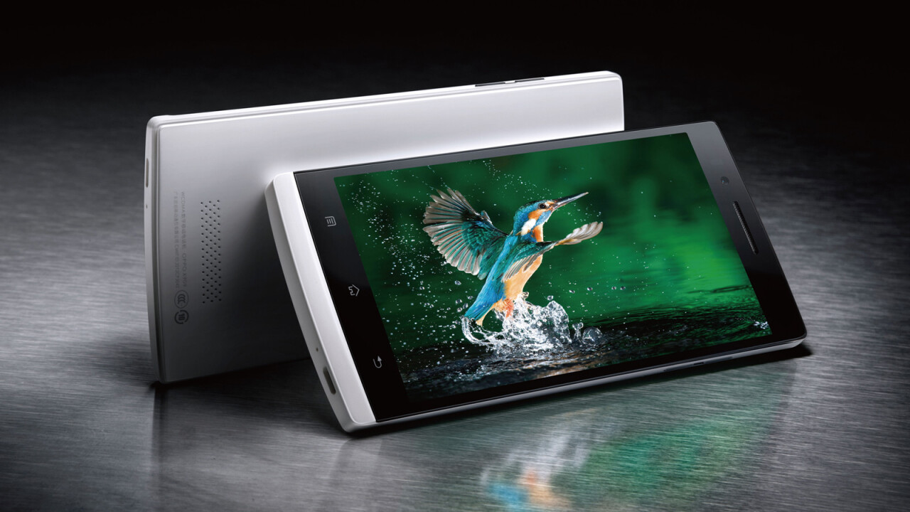 China's OPPO unveils 5″ 1080P Find 5 handset with 13MP camera