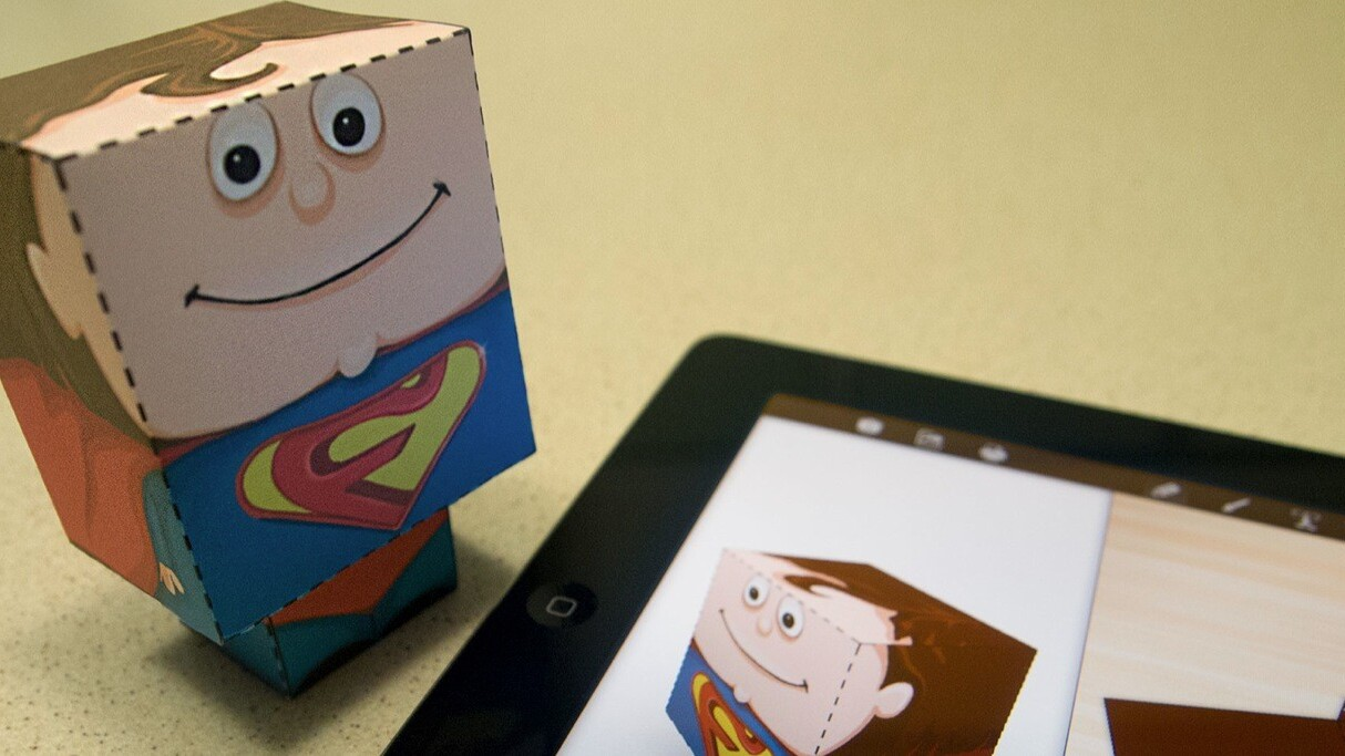 Foldify glues together Papercraft, the iPad and AirPrint to create a rare and delightful experience
