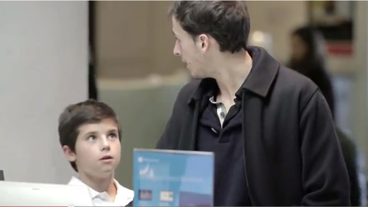 Microsoft believes Windows 8 is so simple to use even an 11-year-old can teach you