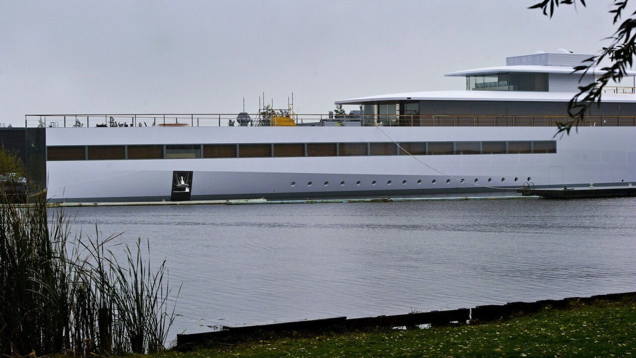 Steve Jobs' yacht is now free to sail as his heirs reach temporary agreement with Starck