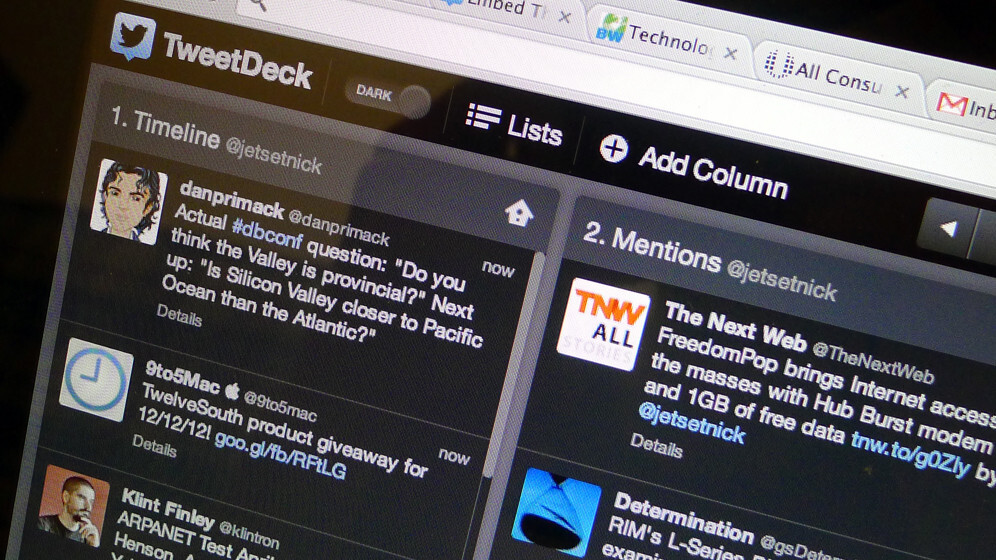 """Tweetdeck adds """"Embed this Tweet"""" feature for easier sharing on blogs and websites"""