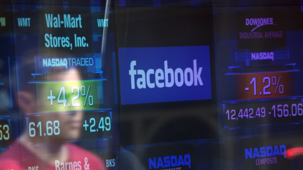 Facebook's stock price soars past $30, its highest in nearly 6 months