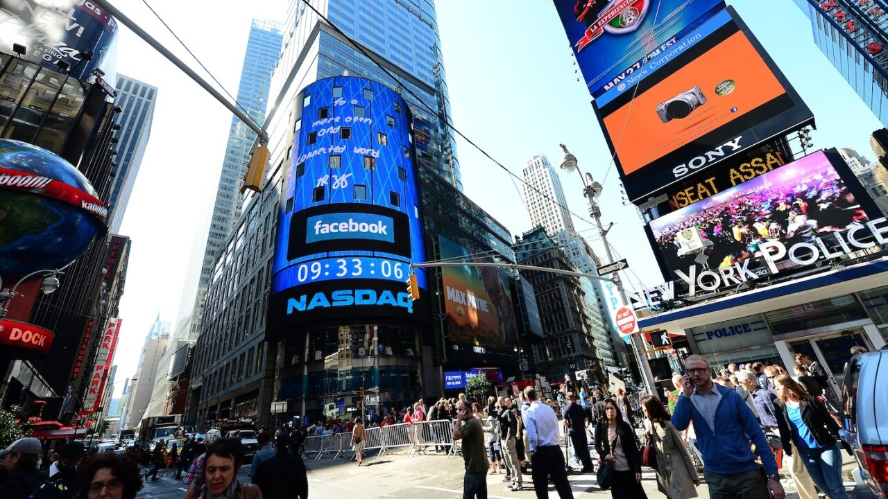 NASDAQ exec Bruce Aust: Messy Facebook IPO didn't impact the appeal of going public (video)