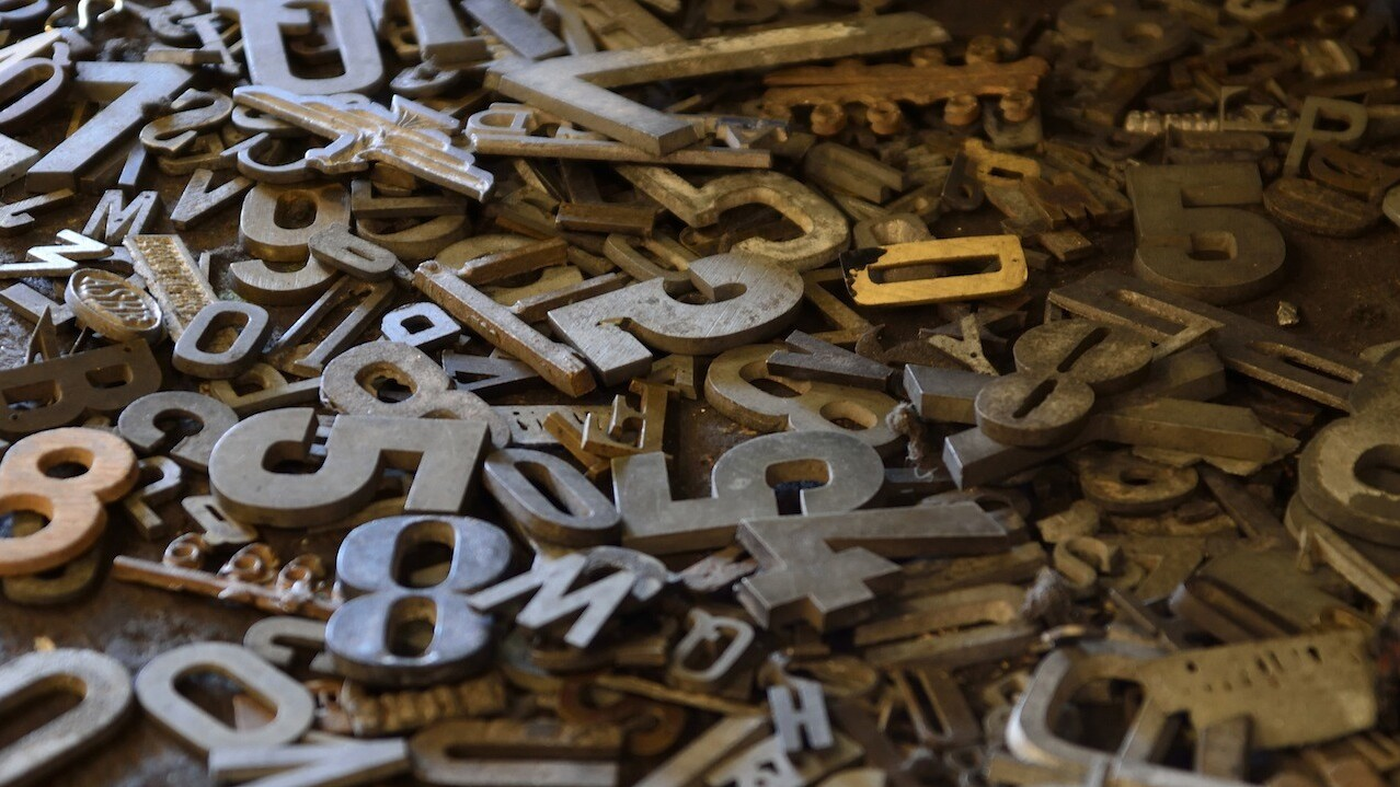 21 of the best typefaces from October 2014