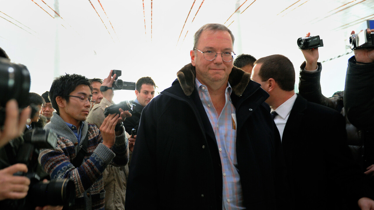 Google's Eric Schmidt calls for an open Internet as he lifts the lid on his visit to North Korea