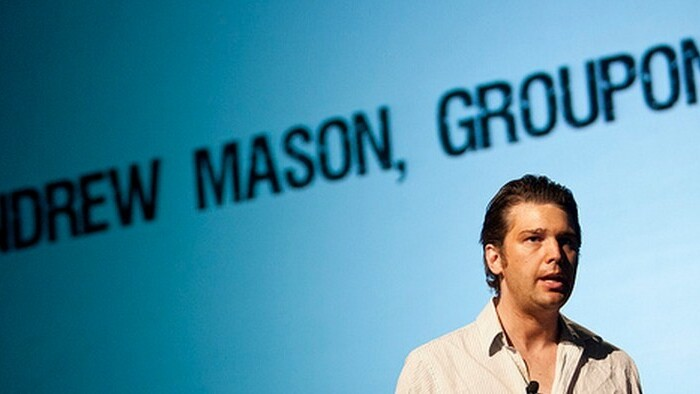 Rebound: Groupon's share price has doubled since its record lows, rising 99% in 58 days